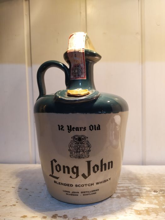 Long John 12 years old - b. late 1960s early 1970s - 75 cl