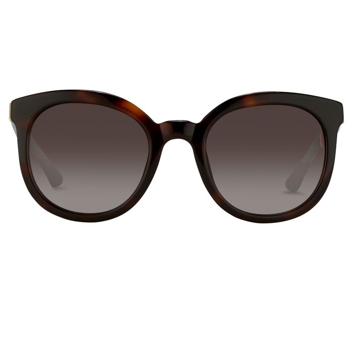 "Orlebar Brown - Oversized Tortoise Shell with Brown Graduated Lenses OB16C2SUN ""NO RESERVE PRICE"" Sunglasses"