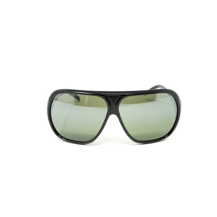 "Raf Simons by Linda Farrow - Oversized Frame Black and Green Lenses ""NO RESERVE PRICE"" Sunglasses"