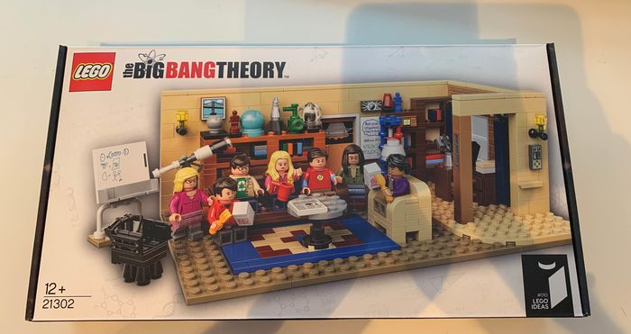 LEGO - Ideas - 21302 - Fernsehsendung The Big Bang Theory - Dänemark