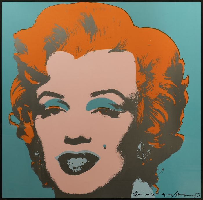 After Andy Warhol - Marilyn Monroe