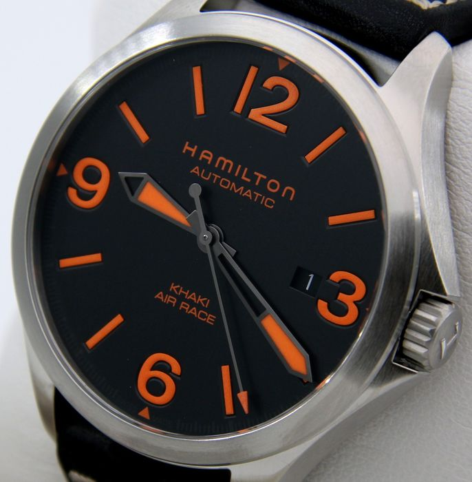"""Hamilton - - NO RESERVE PRICE - Khaki Air Race """"Special Edition Red Bull"""" -- - H765350 - Hombre - 2011 - actualidad"""