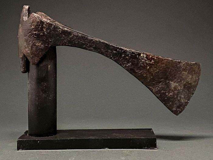 Medieval Viking Era Iron Battle Axe