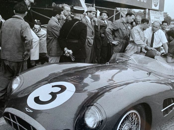 photograph - 1958 Le Mans 24 Hour Aston Martin Stirling Moss  - Aston Martin - After 2000
