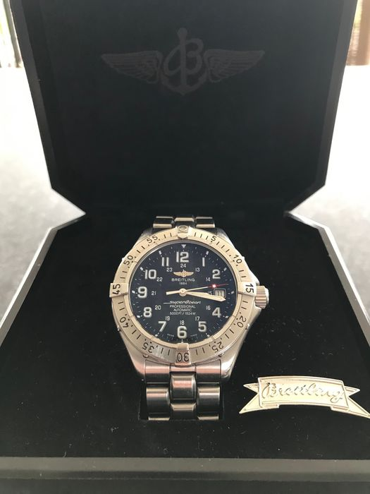 Breitling - Superocean  Professional 5000FT/1524m - Ref. A17345 - Homme - 2003