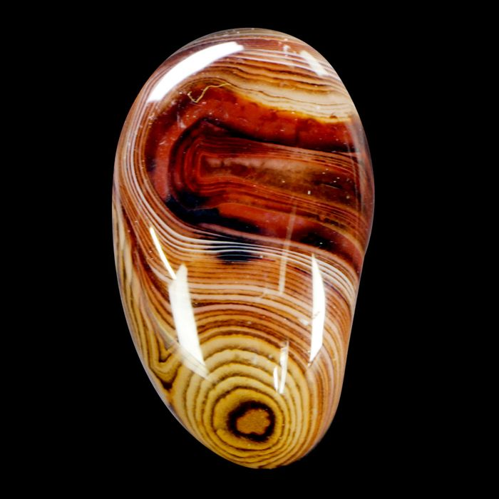 Colorful Banded Agate - No reserve price - Free Form (Smoothed) - 53×32×28 mm - 78 g
