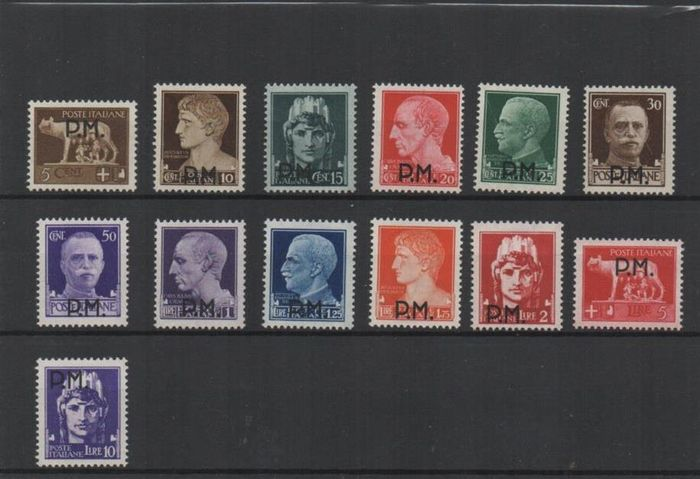 Italien 1942 - Issue for military use - Sassone 1/20 S2600