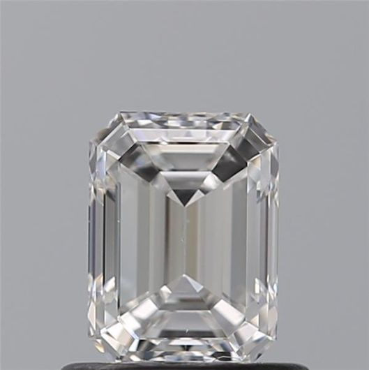 1 pcs Diamant - 0.79 ct - Smaragd - E - VS1
