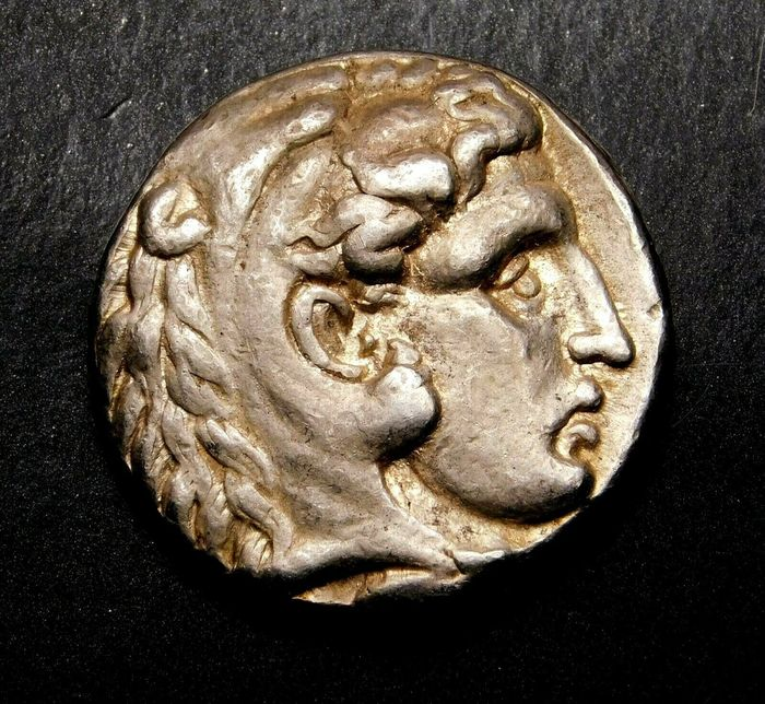 Griechenland (Antike) - Tetradrachm Alexander the Great (336-323 BC)  Early Posthumous issue of Tyre mint. Dated RY 10 (308/7 BC). - Silber