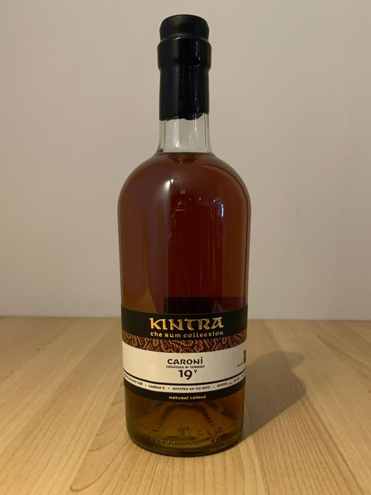 Caroni 1998 19 years old Kintra & The WhiskyMercenary - b. 2017 - 70 cl