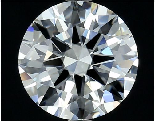 1 pcs Diamond - 0.54 ct - Round - D (colourless) - IF (flawless), ***No Reserve Price***