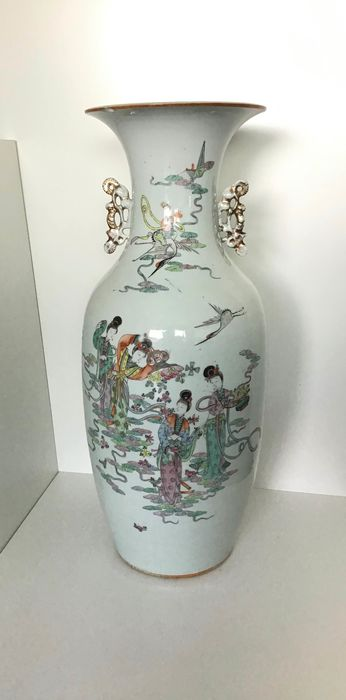 Vase - Porzellan - China - Republik Periode (1912 - 1949)