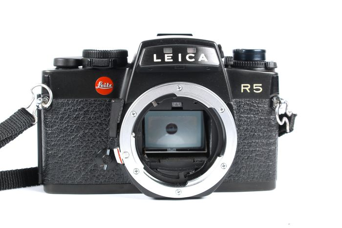 Leica R5 body in nette staat!
