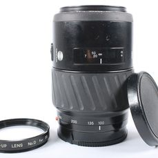 Minolta AF Zoom 100-300 mm F4.5-5.6 objectief inclusief close-up lens!