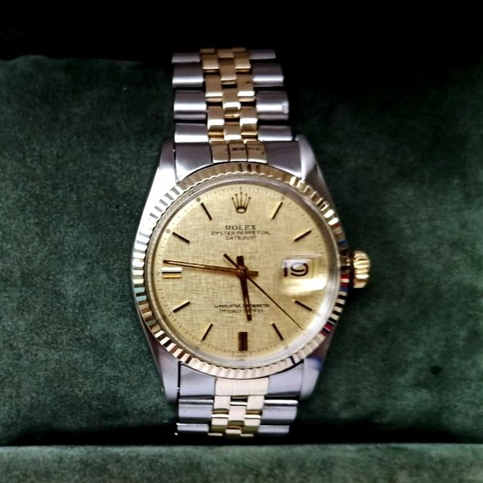 Rolex - Oyster Perpetual Datejust, - 1601 - Uomo - 1970-1979