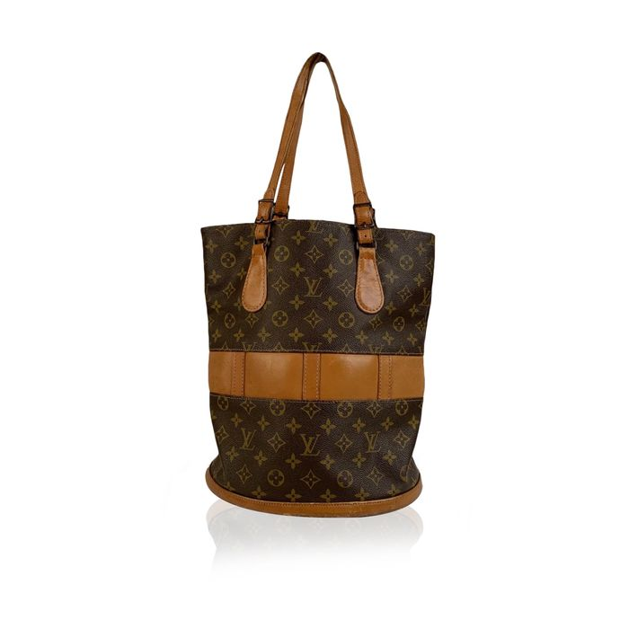 Louis Vuitton - Vintage Made in USA French Co. Monogram Large Bucket Bag Tragetasche