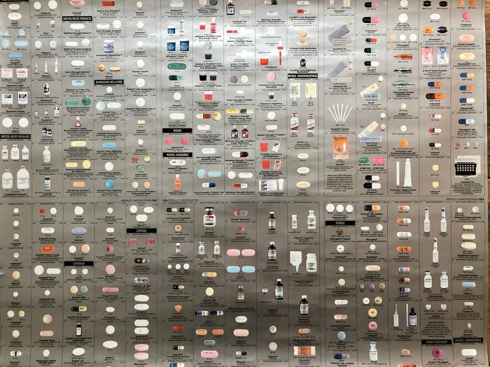 Damien Hirst (1965) (after) - from: Pharmacy Panel (Silver)