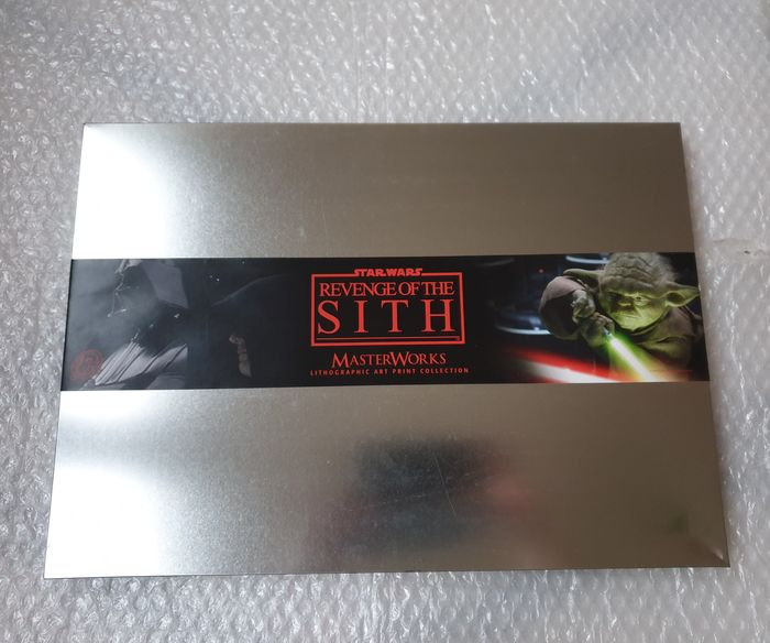 Star Wars - Revenge of the Sith - MasterWorks Lithographic Art Print Collection (30 prints in Collectors Tin)   - Limited Edition - nr 0729/2000