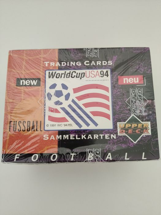 Variant Panini - Upperdeck - World Cup USA 94 - Originalverpackung - 1994