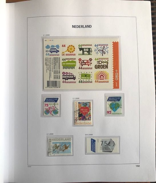 Netherlands 2008/2014 - Complete collection in a Davo LX album VI with slipcase - NVPH 2550/3258
