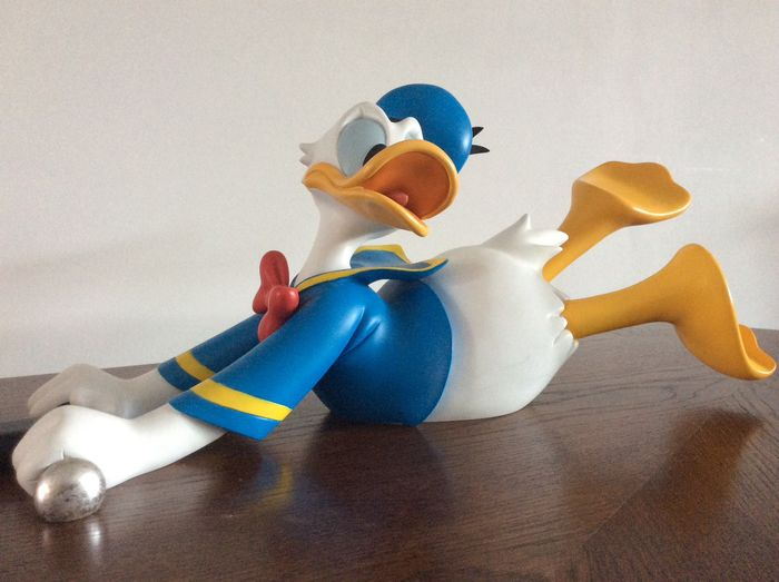 Donald Duck - Donald Duck met zijn Grasmachine. - Limited Edition - (2000/2000)