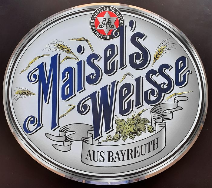 Maisel's Weisse Bier - Plaque (1) - Iron (cast/wrought)