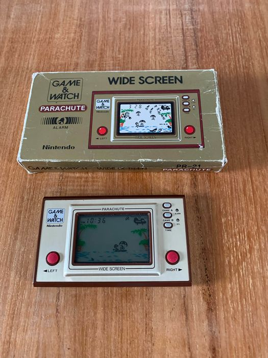 Nintendo Game & Watch - Wide Screen - Game & watch Screen Parachute - Without original box