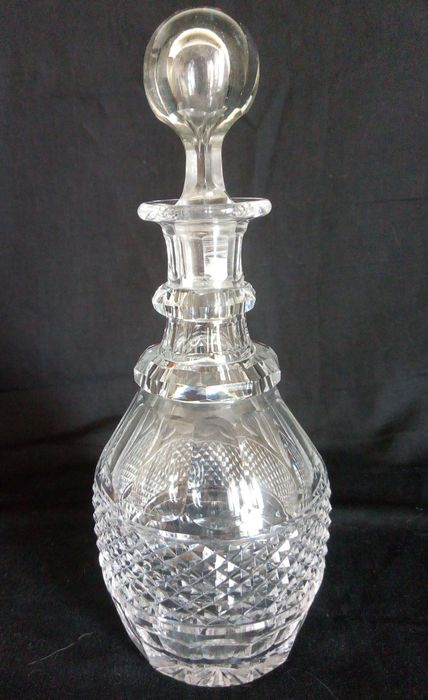 Cristallerie de St. Louis - Liqueur carafe in cut crystal, Trianon model - Crystal