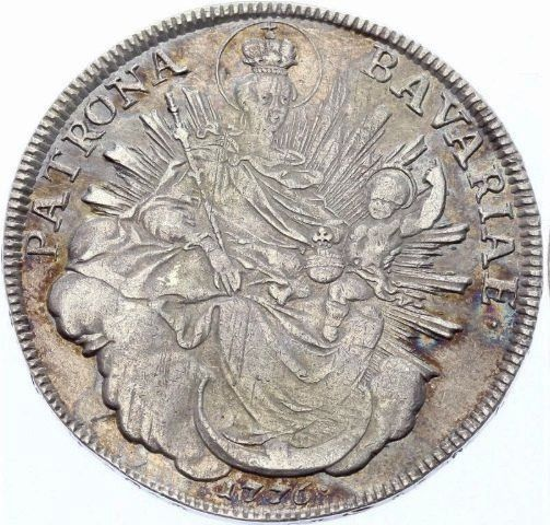 Germany - Bavaria - Madonnentaler 1776 A  - Silver