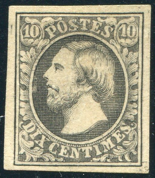 Luxemburg 1852 - First Issue Grandduke William III - Michel 1
