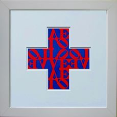 Robert Indiana (after) - Love Cross