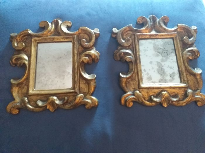 frames for cardboard (2) - Soft wood - 18th century