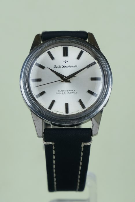 "Seiko - ""NO RESERVE PRICE"" Sportsmatic Water 30 proof - 6601-8961 Dolphin - Unisex - 1960-1969"