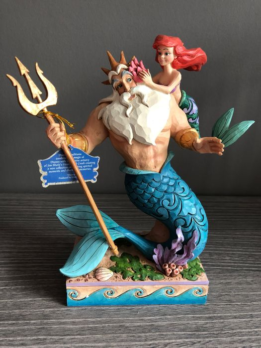 Disney Showcase Collection - Beeldje - Disney Traditions - The Little Mermaid - Daddy's little princess