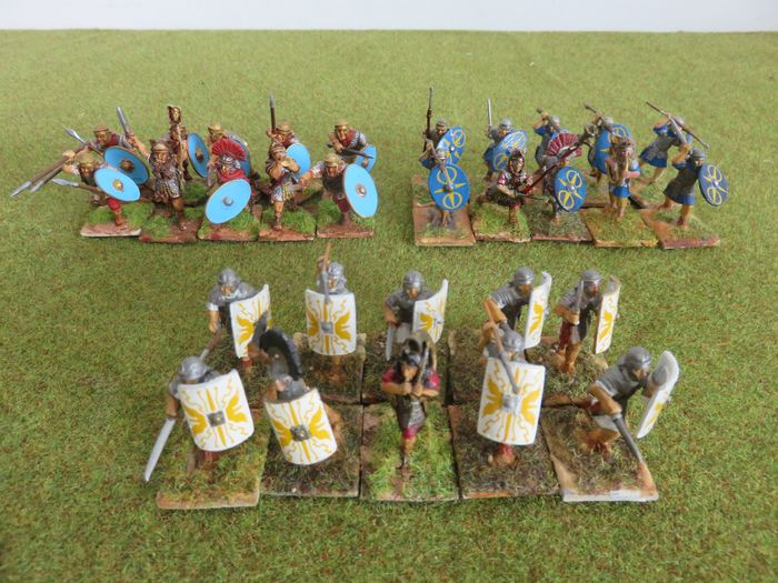 Romeinen - Old Glory + 1st Corps + Gripping Beast - Warlord Games - Personnage - 2000-aujourd'hui - Royaume-Uni