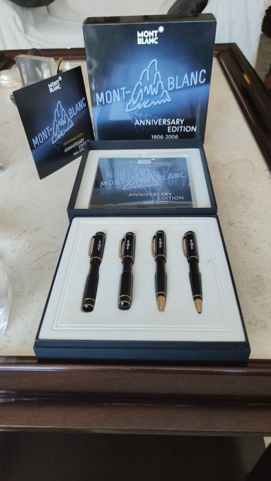 Montblanc - Roller Pen and Mechanical Pencil - ANNIVERSARY SET 1906-2006 of 4