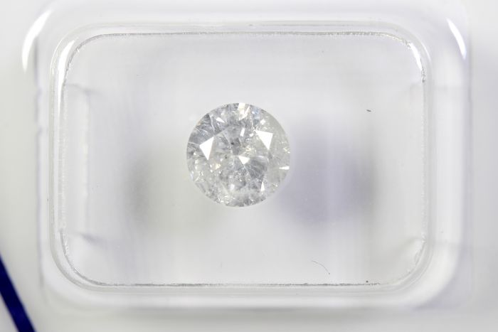 Diamant - 1.05 ct - Brillant - G - I3 - * NO RESERVE PRICE *