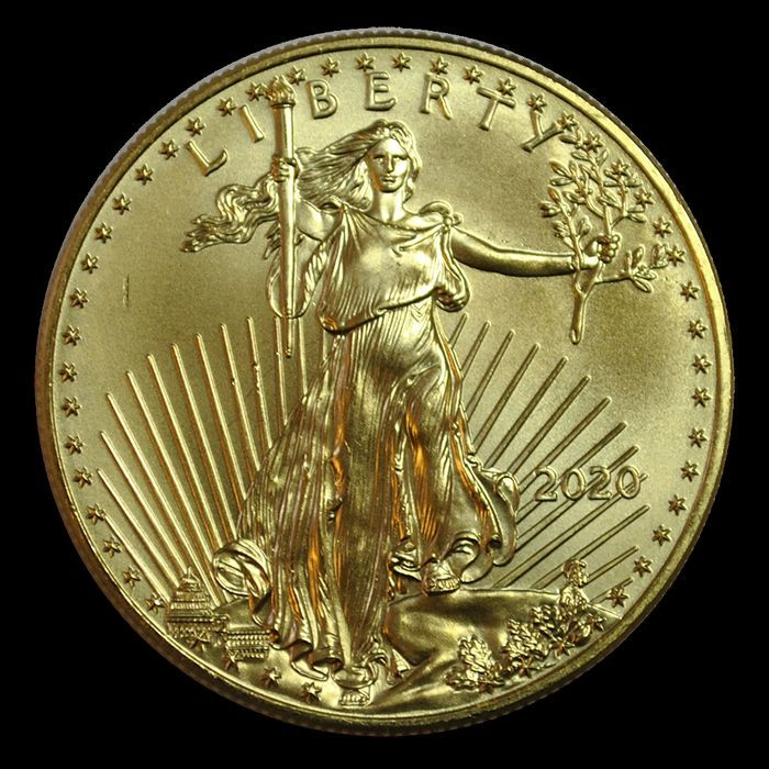 United States. 50 Dollars 2020 American Eagles - 1 Oz