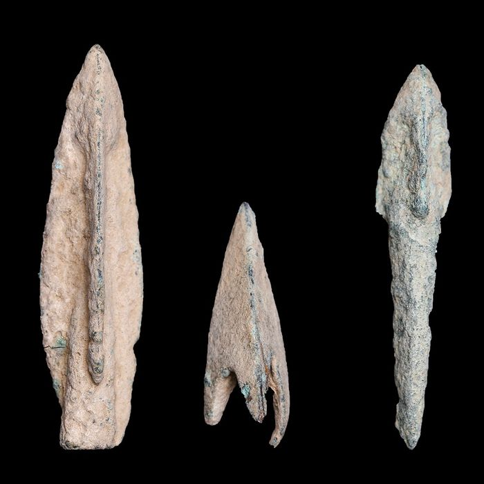 Anatolian Bronze Arrow Head Tips