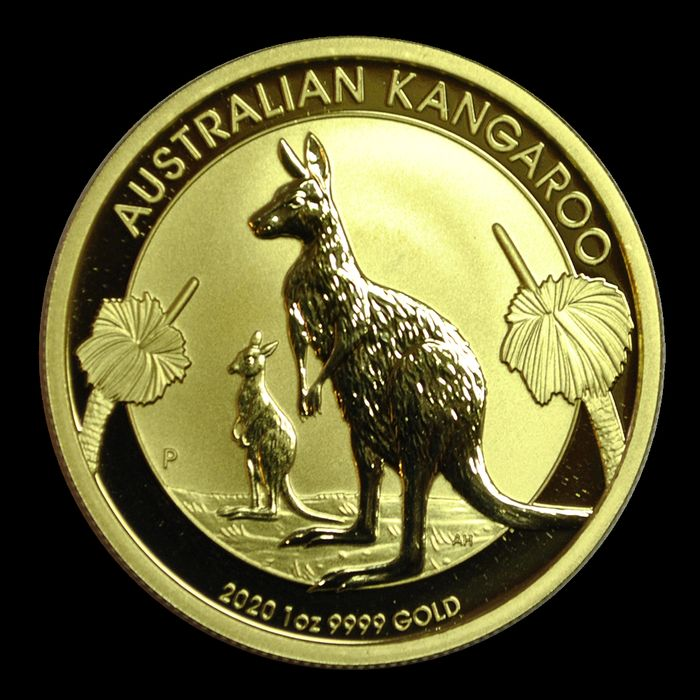 Australie - 100 Dollar 2020 Kangourou - 1 Oz  - Or
