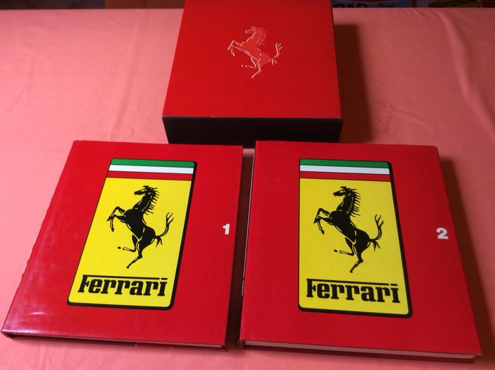 Books - Catalogue Raisonnee 1946 - 1981 - Ferrari - 1970-1980
