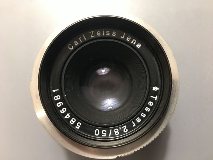 Carl Zeiss Jena Tessar 50mm f 2,8