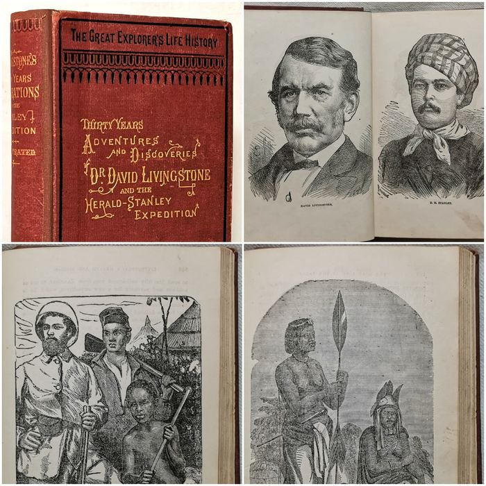 Stanley, H. M. & Livingstone, David - Thirty Years Adventures and Discoveries of Dr. David Livingstone and the Herald-Stanley Expedition - 1872