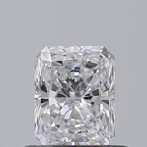 1 pcs Diamond - 0.53 ct - Radiant - D (colourless) - IF (flawless)