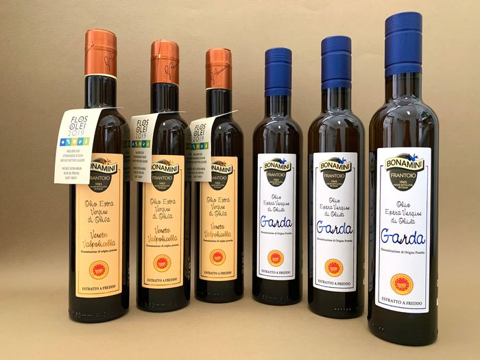 Bonamini - Extra virgin olive oil - 6 - 500ml