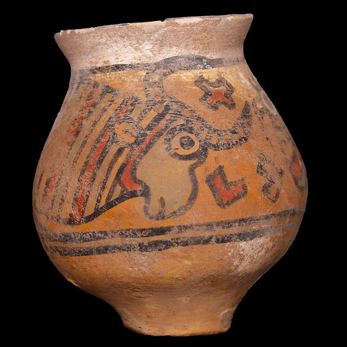 Indus Valley Pottery Polychrome Cup