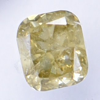 1 pcs Diamond - 0.32 ct - Cushion - Natural Fancy Deep Brownish Yellow - I1  IGI Antwerp Certified  ** No Reserve Price **