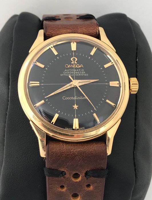 Omega - Constellation Pie Pan Solid Gold - 167005 - Homme - 1960-1969