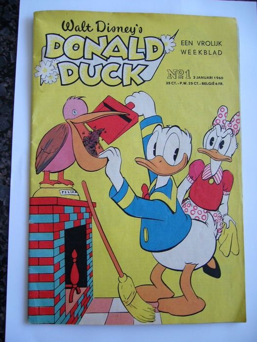 Donald Duck Weekblad - 53 uitgaven - Compleet jaargang - Softcover - First edition - (1960)