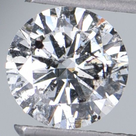 1 pcs Diamond - 1.01 ct - Brilliant, Round - G - I1  ** IGI Antwerp Certified **
